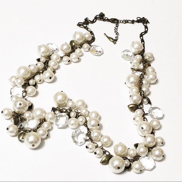Chloe + Isabel Jewelry - Chloe + Isabel • Long Pearl & Crystal Necklace